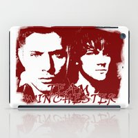 winchester iPad Cases featuring Team Winchester by Panda Cool