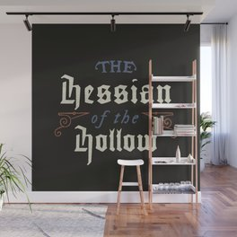 Hessian of the Hollow Wall Mural