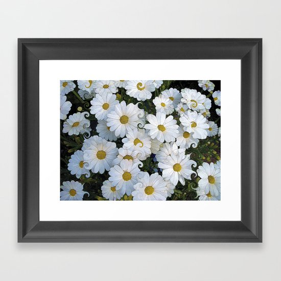 Dreaming Daisies Framed Art Print