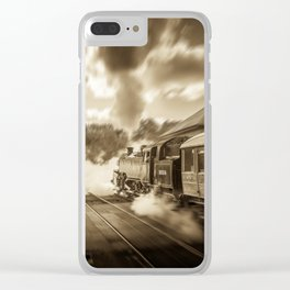 Poetry in Motion Clear iPhone Case