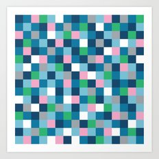 Colour Block #5 Art Print