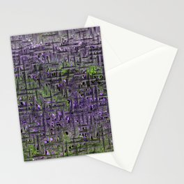 Lavender Hues Abstract Stationery Cards