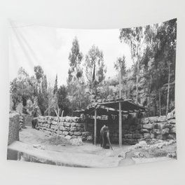 Elephant Land Wall Tapestry