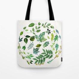 Circle of Leaves Tote Bag