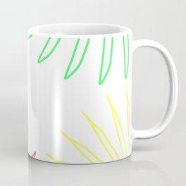 Floral Color Wheel Coffee Mug