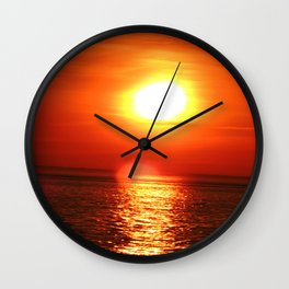 Slowly Sinking Wall Clock