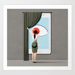 smart home Art Print