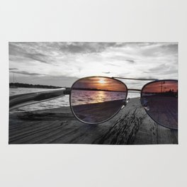 Sunset Perspective Rug