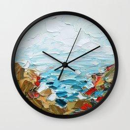 Pacific Shore No. 2 Wall Clock