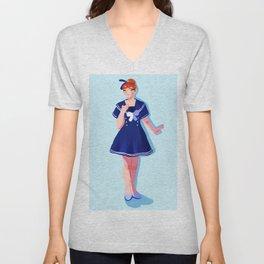 Sailor Anna Unisex V-Neck