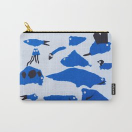 Whimsical Critters Carry-All Pouch