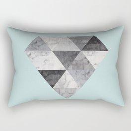 Minimalist and geometric stone II Rectangular Pillow
