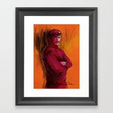 BRONSON VERSION 1 Framed Art Print