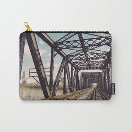 Train Bridge 3 Carry-All Pouch