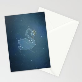 swan queen: stars Stationery Cards