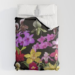 Orchids Galore Comforters