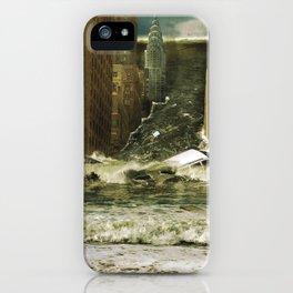 Water vs City iPhone Case