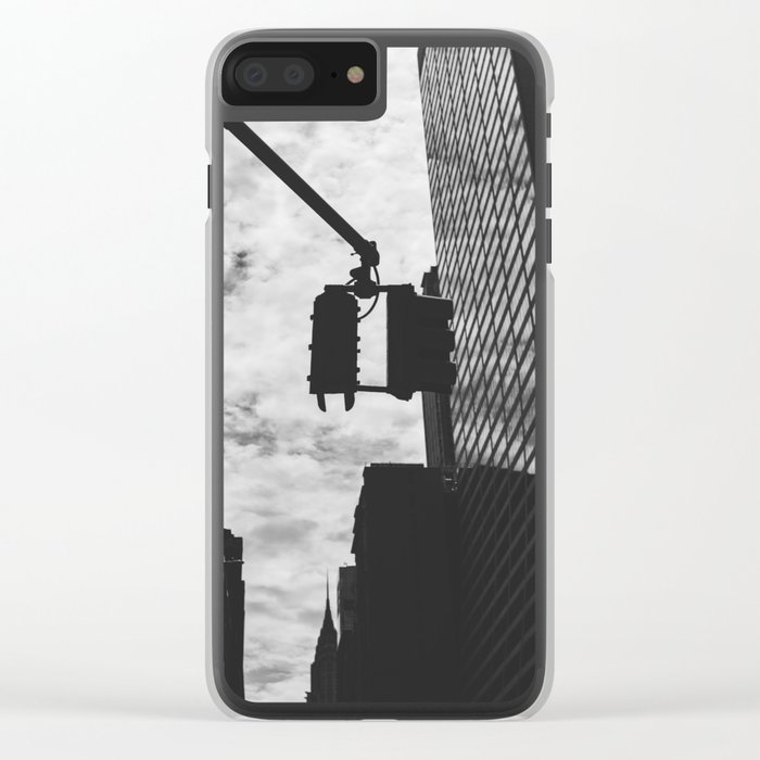 City Streets Clear iPhone Case