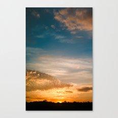 Where the sun rises Canvas Print