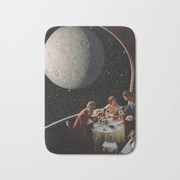 Dine Me To The Moon Bath Mat