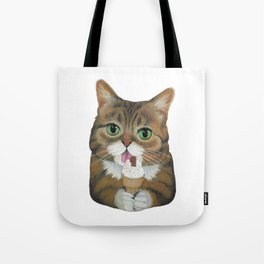 Lil Bub - famous cat Tote Bag