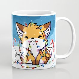 Happy Holidays From Little Fox And Bun Coffee Mug