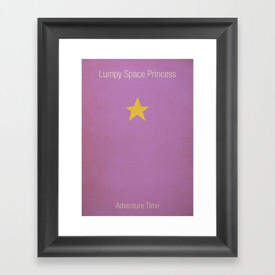 Adventure Time LSP Framed Art Print