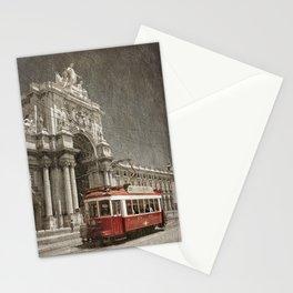 Praca do Comercio tram, Lisbon Stationery Cards