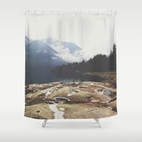 italy Shower Curtains featuring Italy by Laure.B