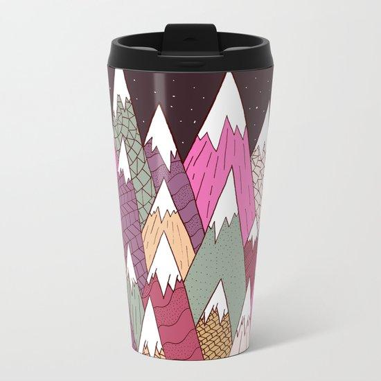 Woodland Warmth Metal Travel Mug