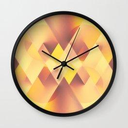 Fall Deco Wall Clock