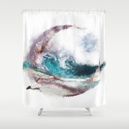 Seaside Future Gazing Shower Curtain