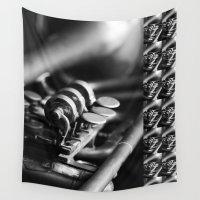 trumpet Wall Tapestries featuring Trumpet by Falko Follert Art-FF77