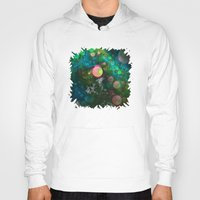 psychadelic Hoodies featuring Inner Space by Lyle Hatch