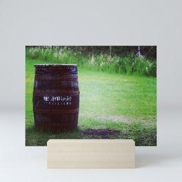 Whiskey Keg Mini Art Print