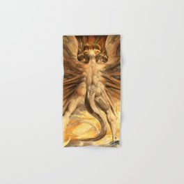 "William Blake ""The Great Red Dragon and the Woman Clothed in Sun"" Hand & Bath Towel"