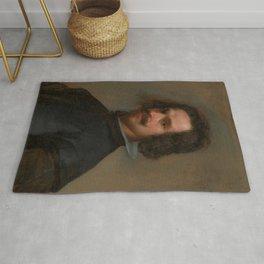 "Diego Velázquez ""Portrait of a Man"" Rug"