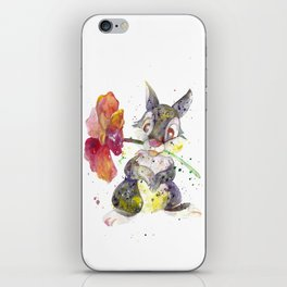 Thumper With Flower iPhone Skin