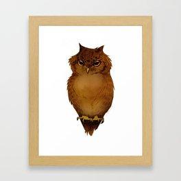 Joana's Owl Framed Art Print