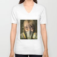 apocalypse now V-neck T-shirts featuring Apocalypse by Bruce Stanfield Photographer