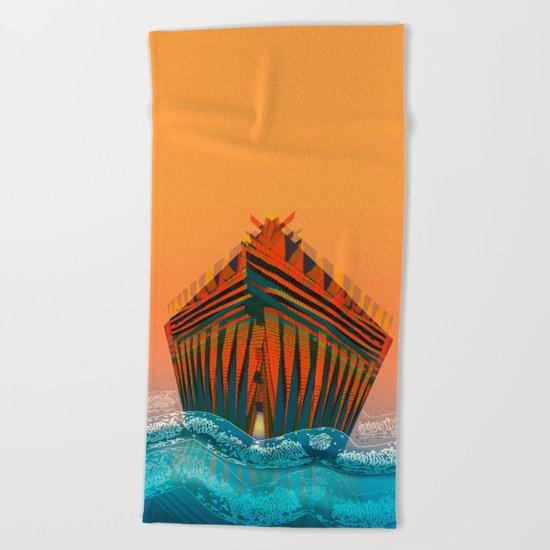 The Sea is my Home Beach Towel
