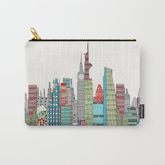 London city skyline  Carry-All Pouch