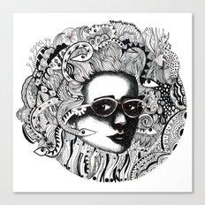 Ms Duesa Canvas Print