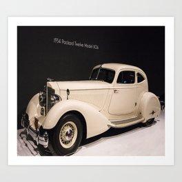 Packard 1934 Art Print