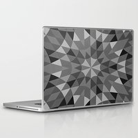 gray pattern Laptop & iPad Skins featuring Gray Pattern by 2sweet4words Designs