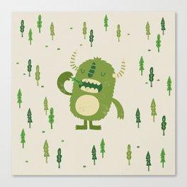 the tree muncher Canvas Print