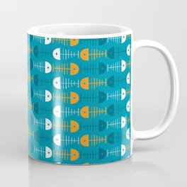 Funny pattern with fishes Coffee Mug