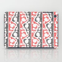 maori iPad Cases featuring Maori Kowhaiwhai Distressed Pattern by mailboxdisco