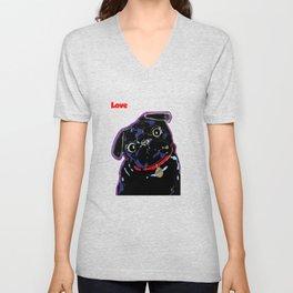 Pug of Gooberella Unisex V-Neck