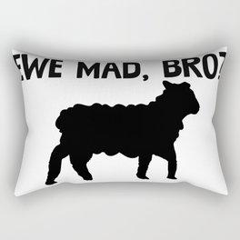 Ewe Mad Bro Rectangular Pillow
